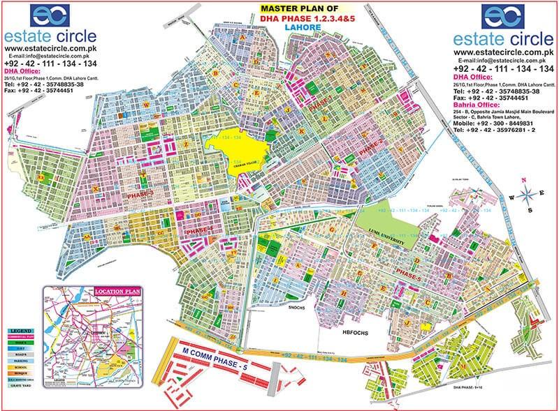 estate circle's map